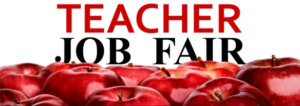 teacher job fair banner