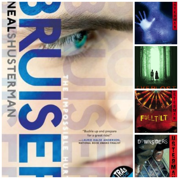 Neal Shusterman Collage